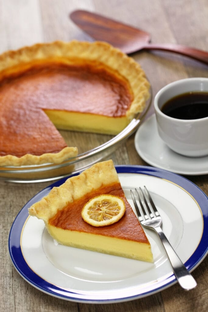 Homemade Old-Fashioned Buttermilk Pie