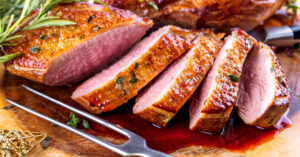 Homemade Roasted Duck Breast