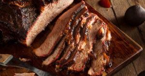 Homemade Smoked Beef Brisket