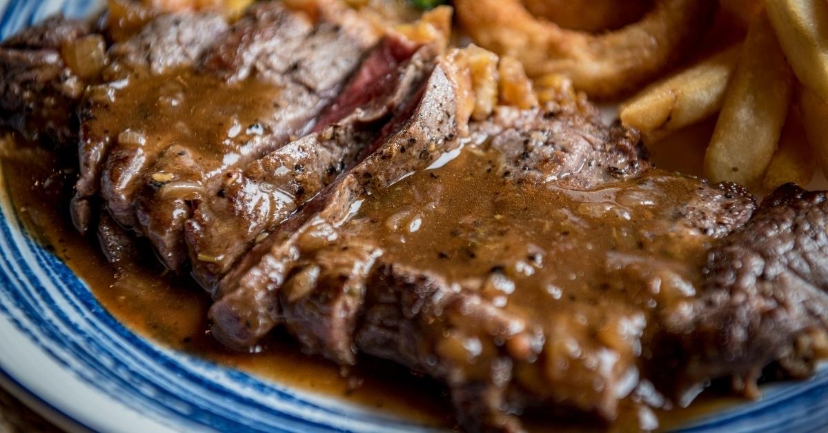Homemade Stirloin Tip Steak