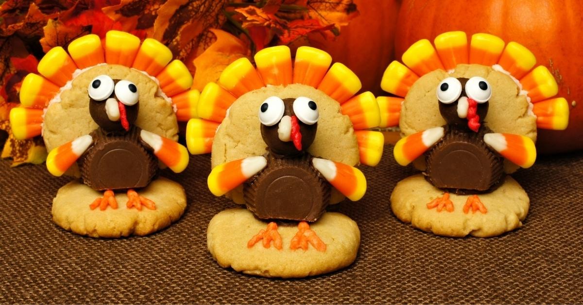 Homemade Thanksgiving Turkey Cookies