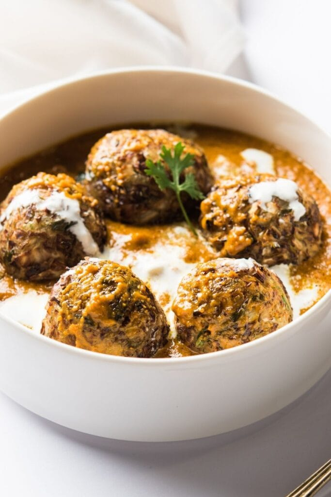 Indian Buttery Spiced Balls or Malai Kofta