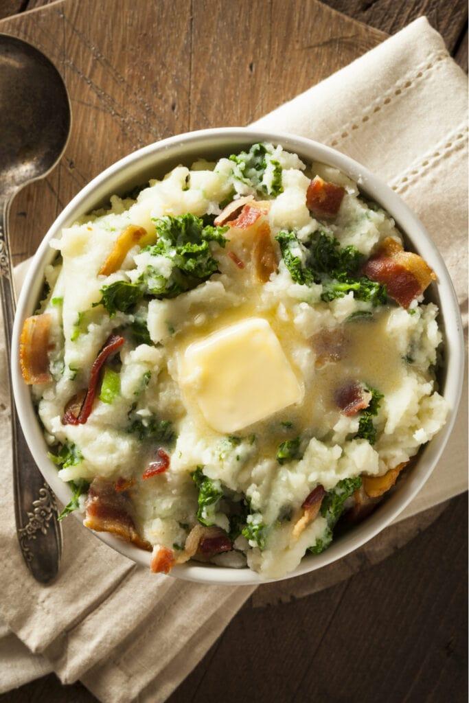 Irish Mashed Potato Colcannon