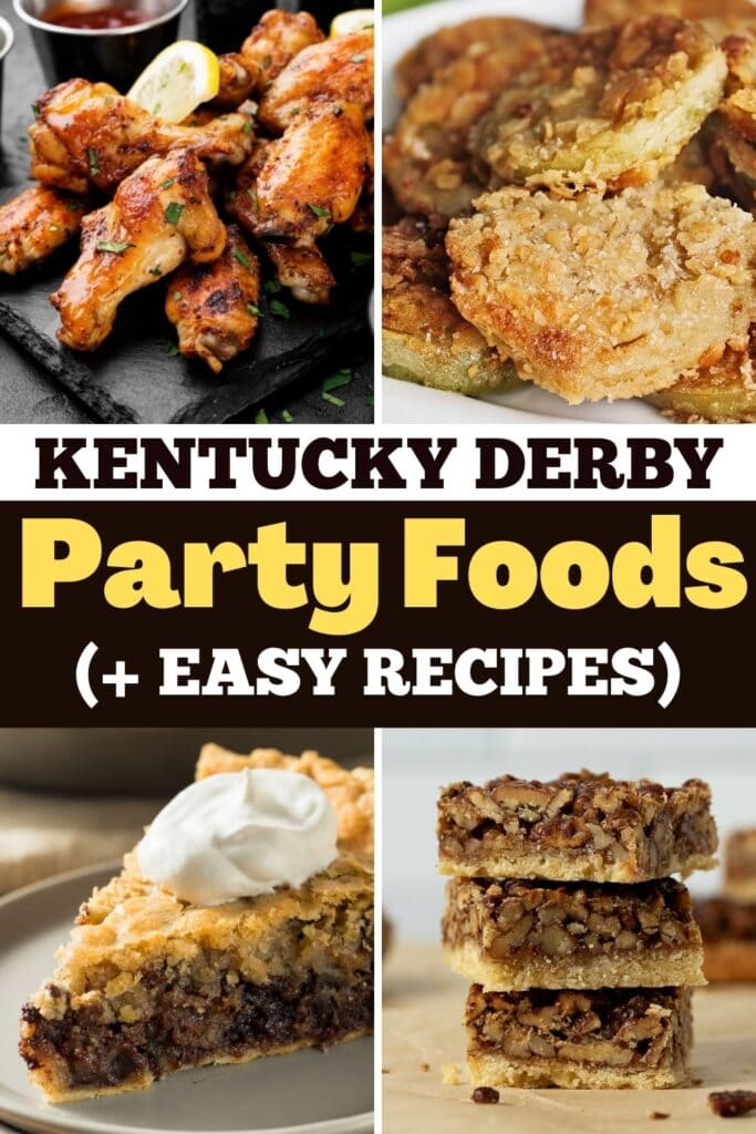 Kentucky Derby Party Foods