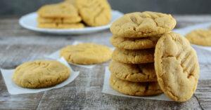 Keto Peanut Butter Cookies