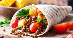 Lentil Tacos with Vegetables