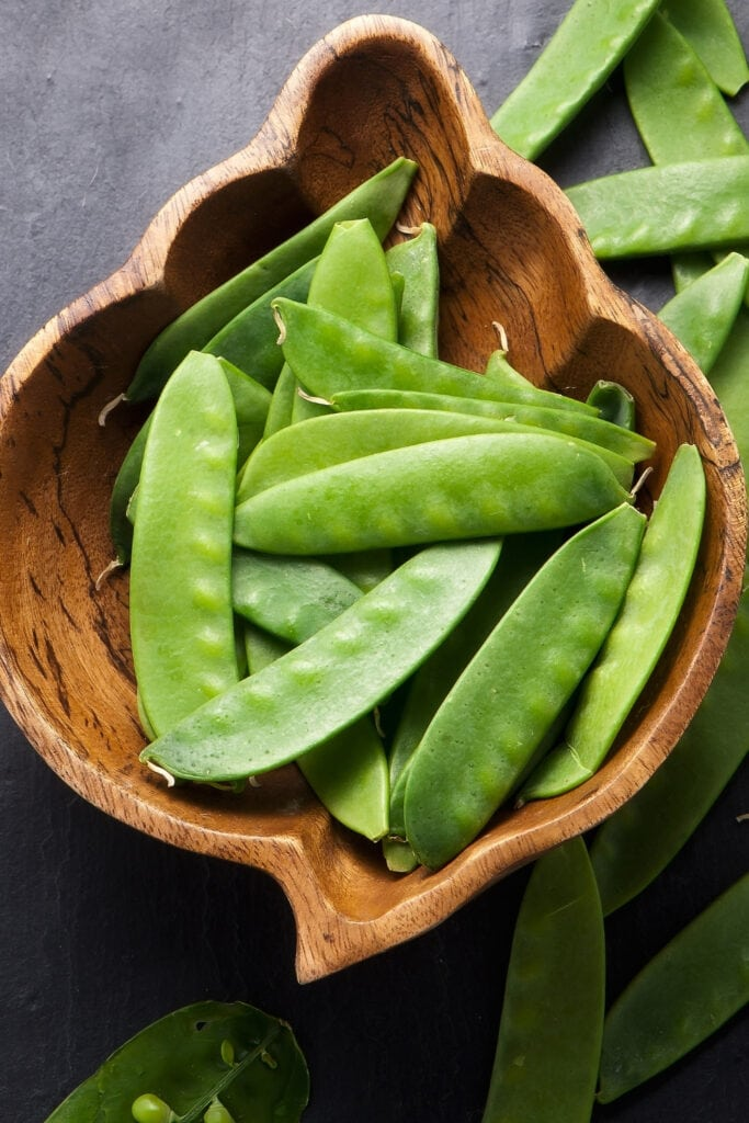 Mangetout or Green Pods