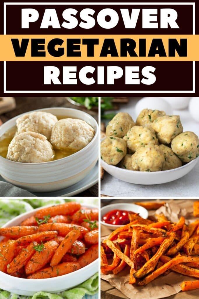 Passover Vegetarian Recipes