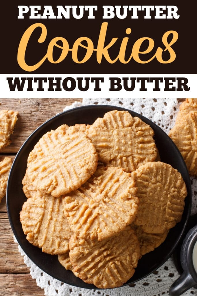 Peanut Butter Cookies Without Butter