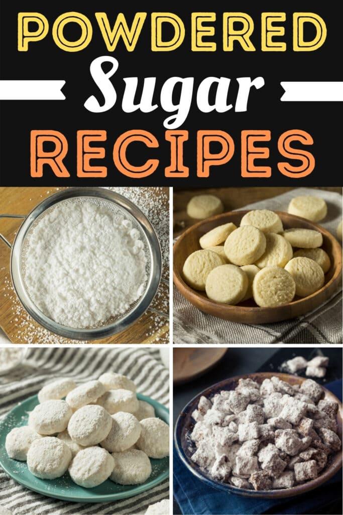 Powdered Sugar Recipes