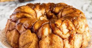 Pull Apart Carrot Cake Monkey Bread