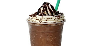 Refreshing Double Chocolate Chip Frappuccino