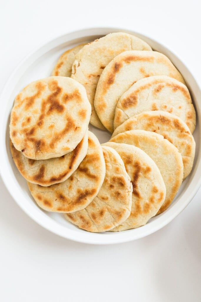 Salvadoran Pupusas: Stuffed Tortillas