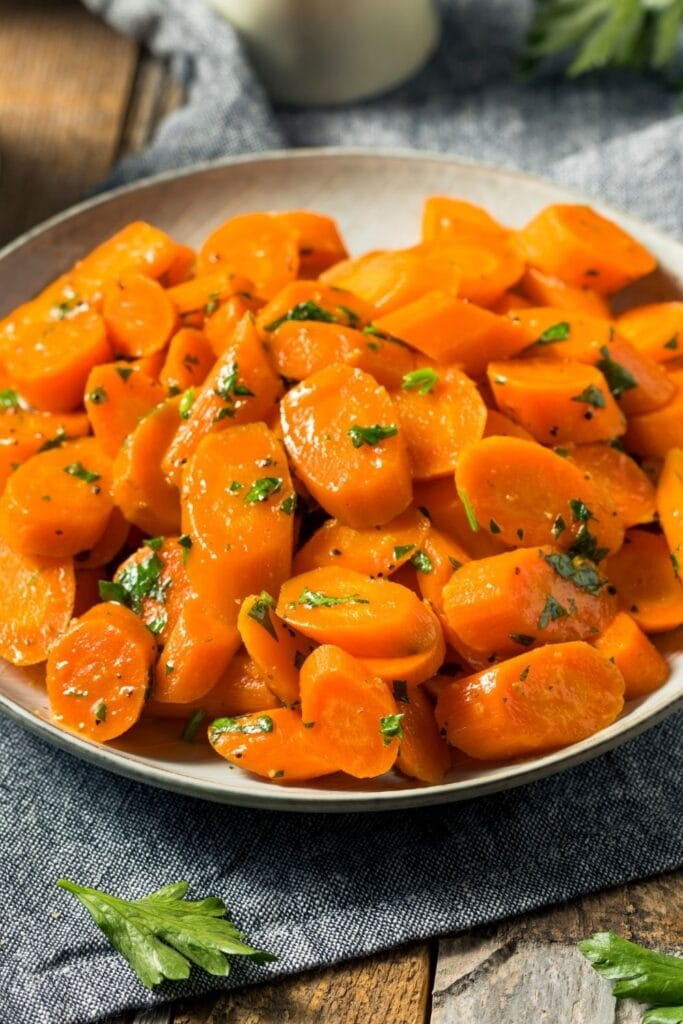 Sauteed Carrots with Butter and Herbs