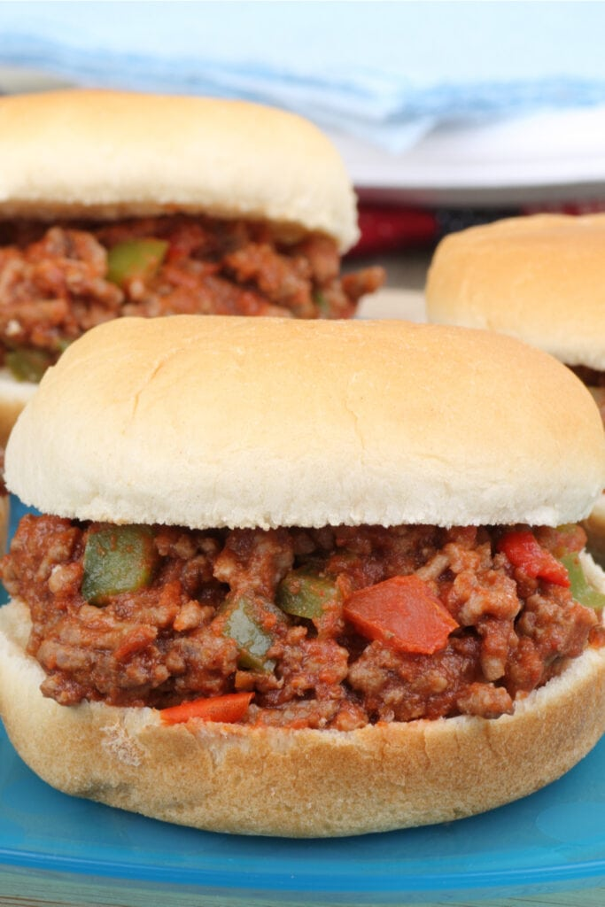 Sloppy Joes with Bell Peppers