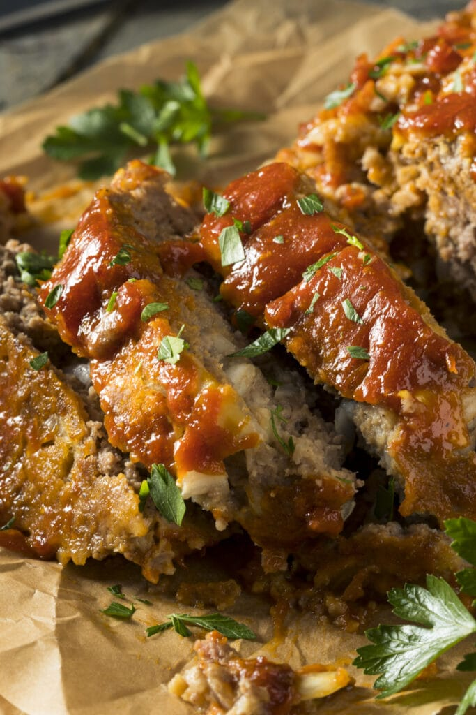 Spiced Onion Meatloaf