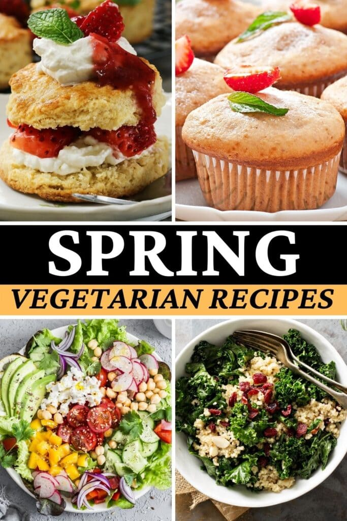 Spring Vegetarian Recipes