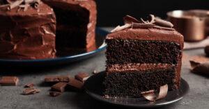 Tasty Homemade Chocolate Cake