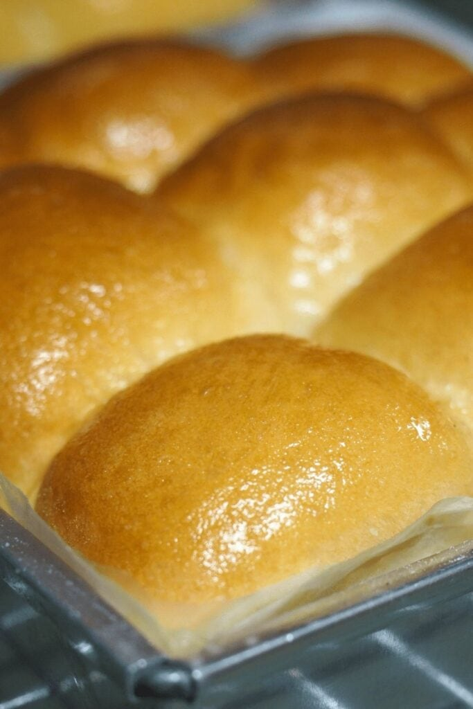 Soft and Buttery Condensed Milk Bread