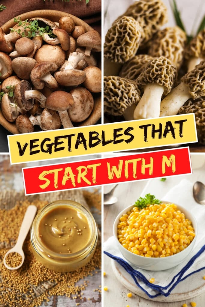 Vegetables That Start With M