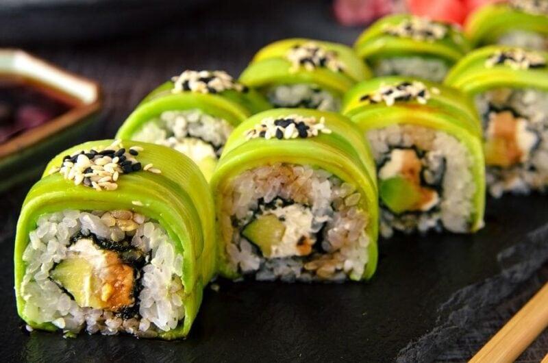 20 Easy Vegetarian Sushi Recipes
