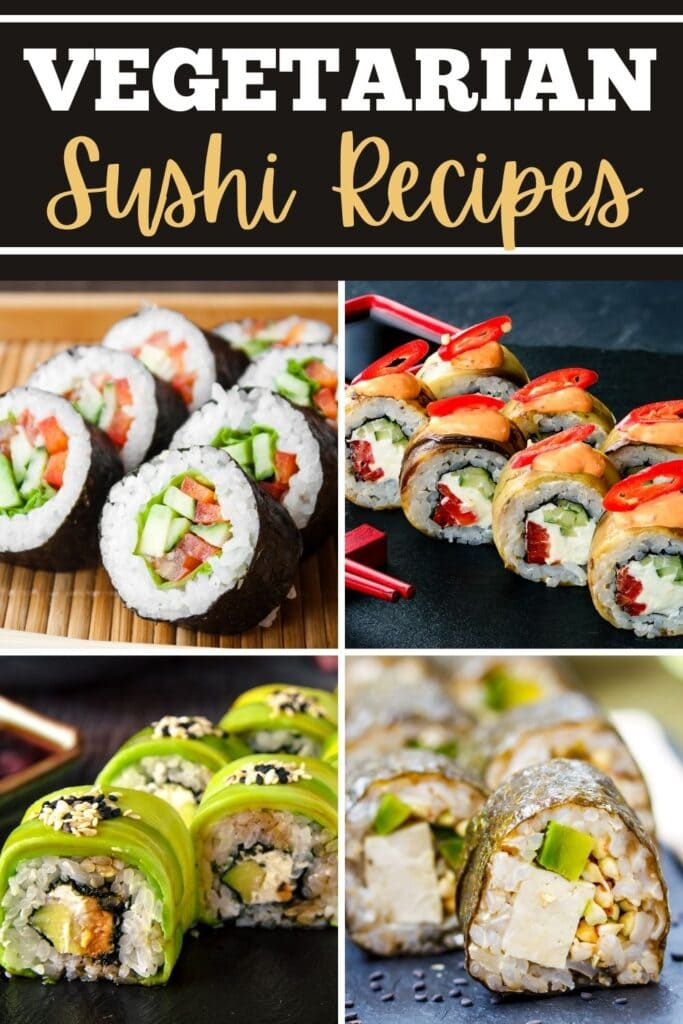 Vegetarian Sushi Recipes