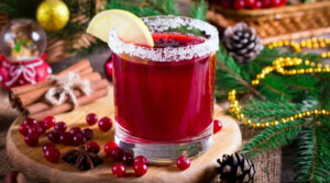 A Glass of Cranberry Cocktail