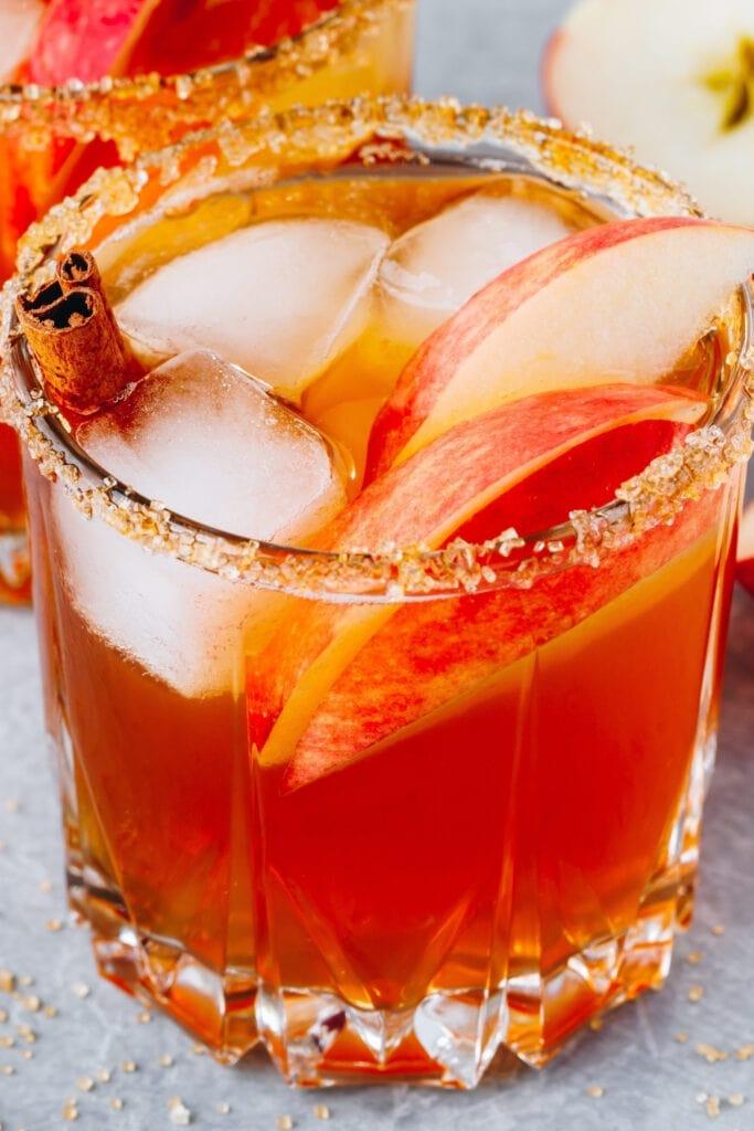 Apple Cider Margarita with Cinnamon