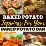 Baked Potato Toppings for Your Baked Potato Bar