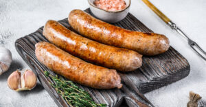 Barbecue Sausages with Herbs and Spices