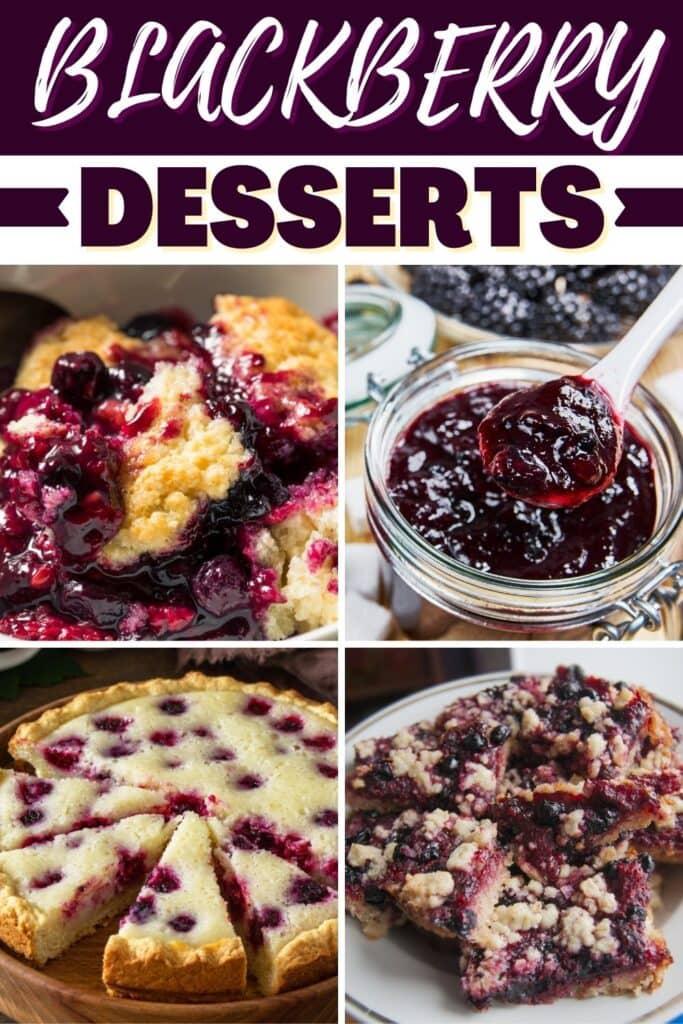 Blackberry Desserts