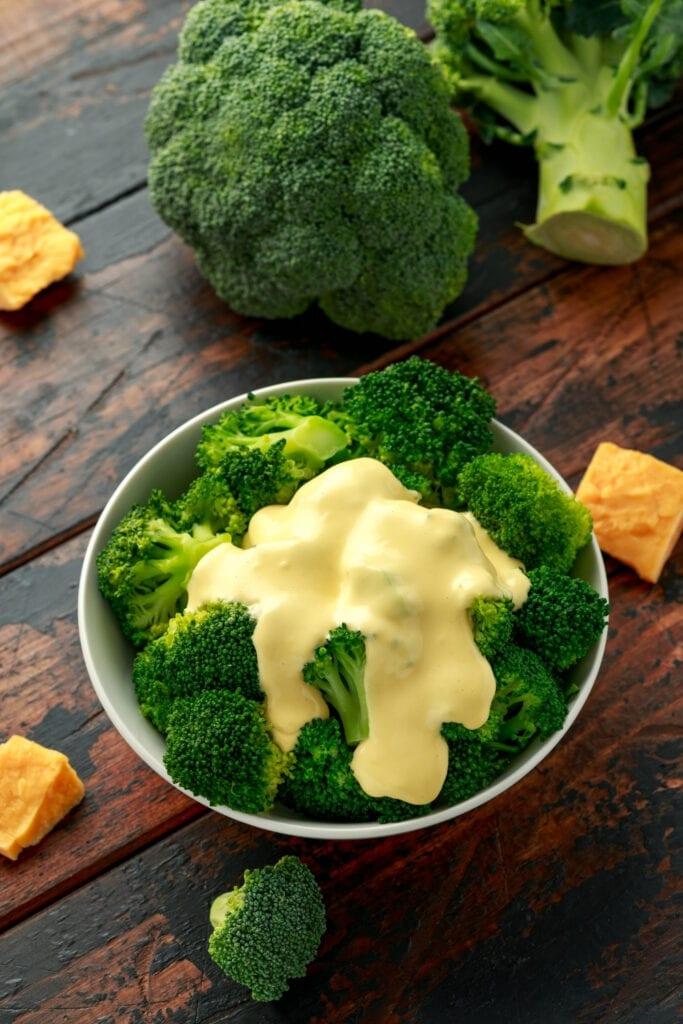 Fresh Broccoli and Cheese
