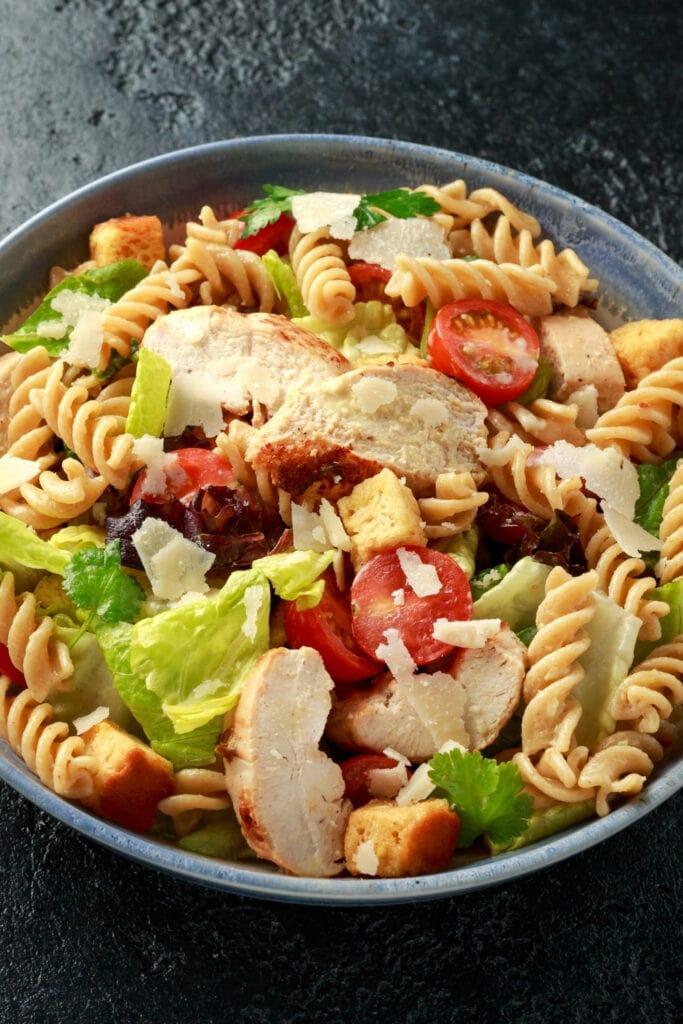 Caesar Salad Chicken Pasta