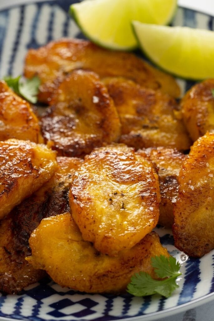 Caramelized Fried Plantains with Lime