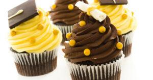 Chocolate Cupcakes for Graduation