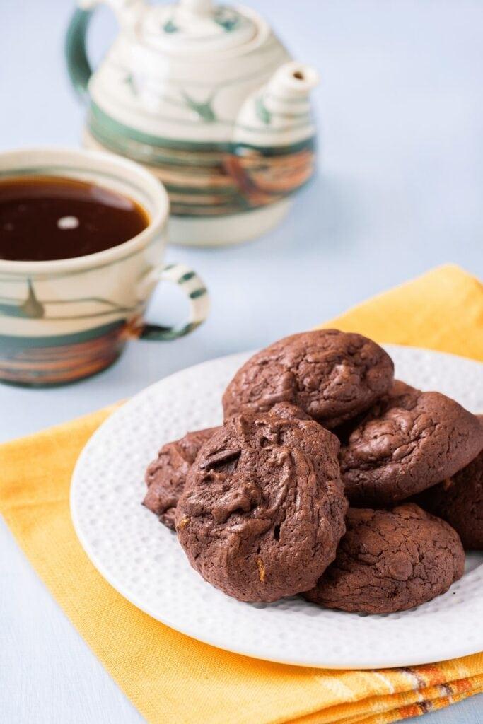 Homemade Chocoalte Ice Box Cookies