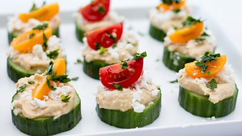 20 Easy Cucumber Appetizers