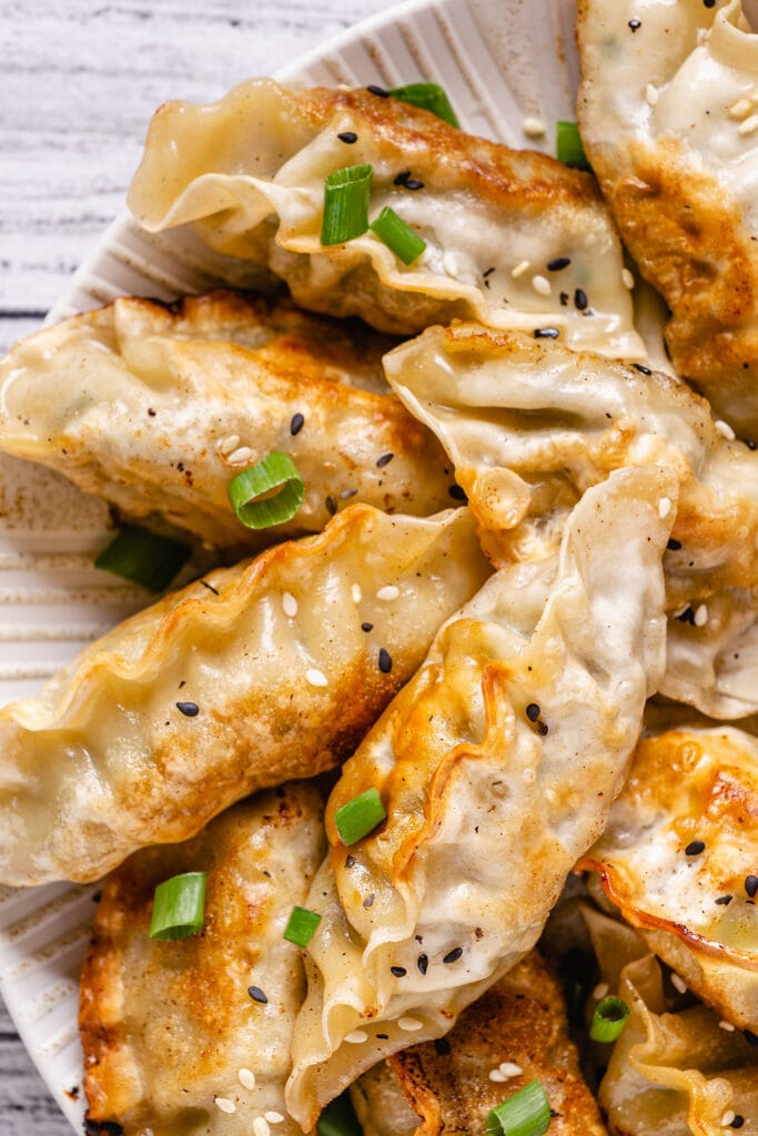 Fried Dumplings with Soy Sauce