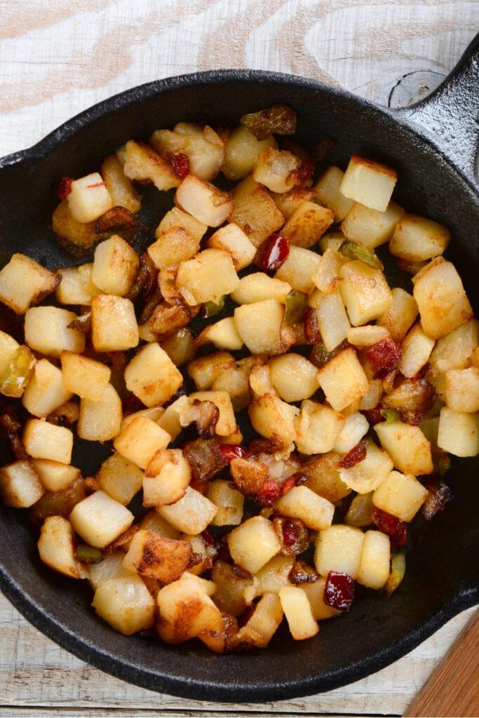 Parmesan Breakfast Potatoes