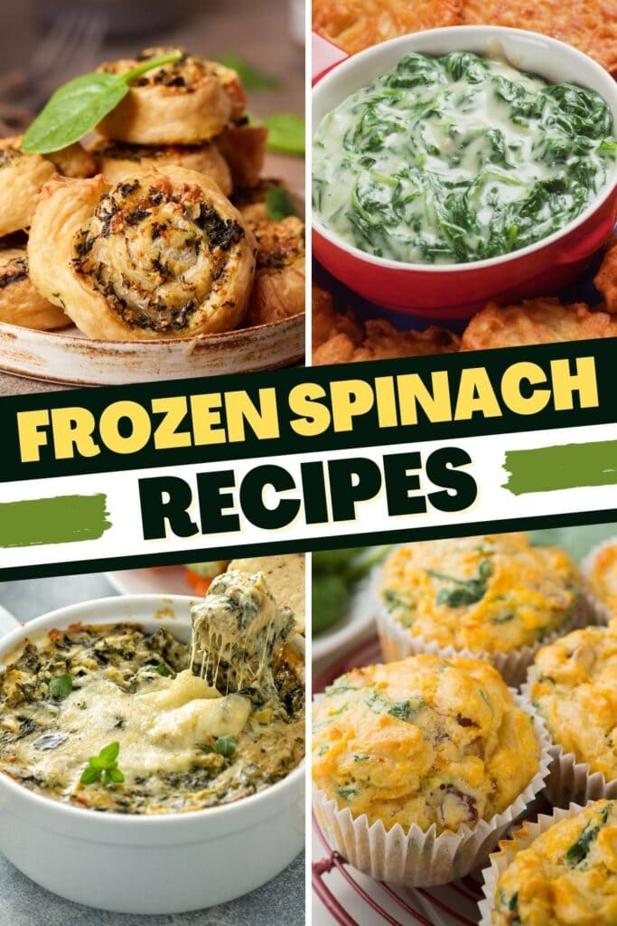 Frozen Spinach Recipes