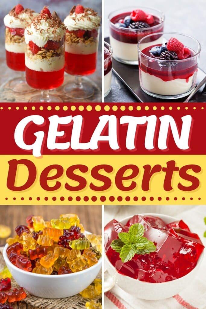 Gelatin Desserts