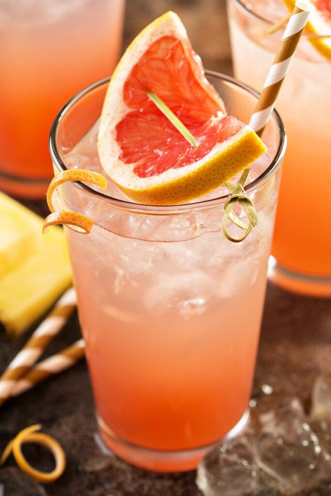 Grapefruit and Pineapple Mocktail