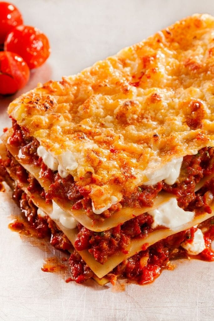 Ground Beef Lasagna