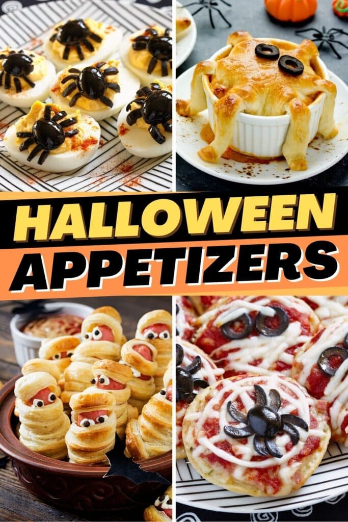 Halloween Appetizers