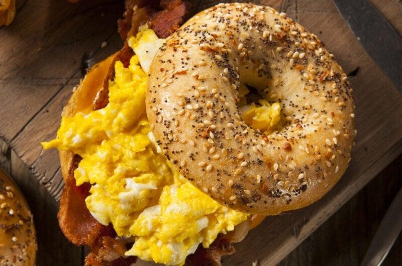 23 Bagel Sandwich Recipes We Love