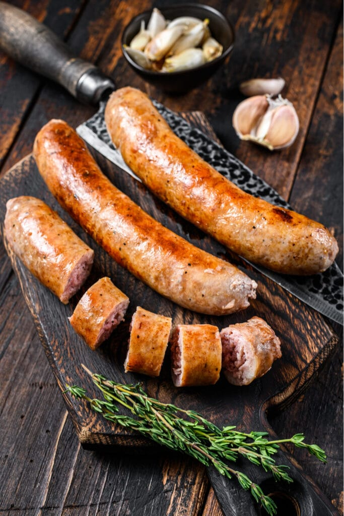 Homemade Barbecue Sausages