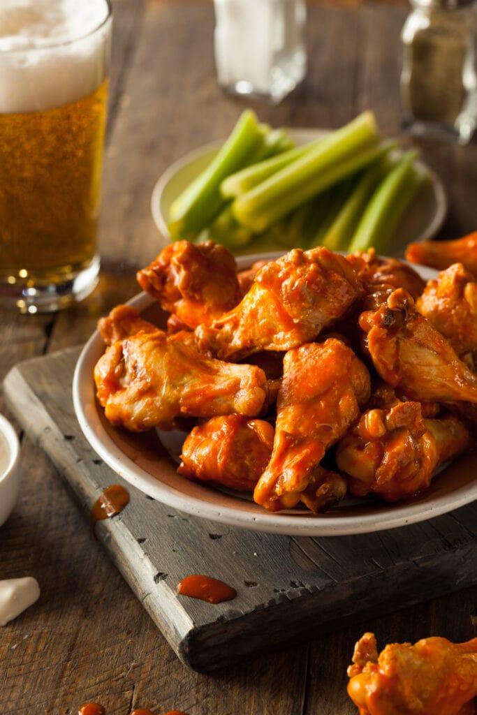 Homemade Buffalo Wings