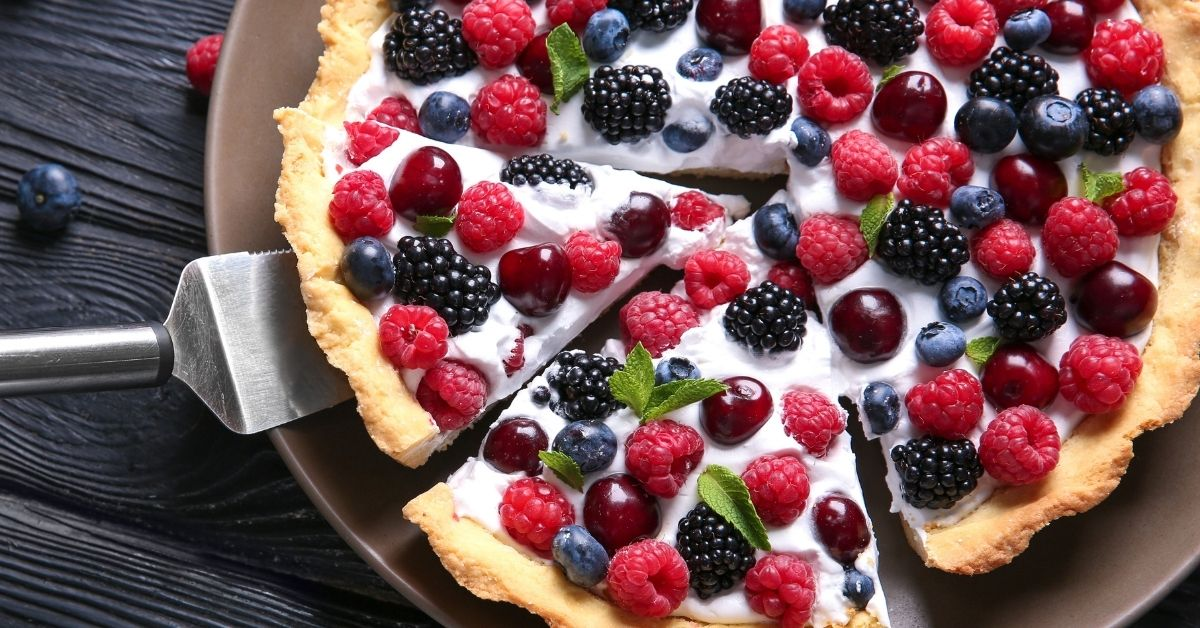 Homemade Pie with Berries