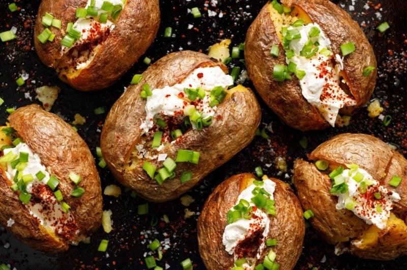 25 Baked Potato Toppings for Your Baked Potato Bar