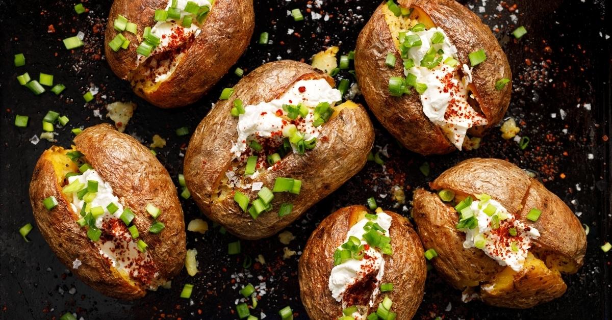 Homemade Stuffed Baked Potatoes